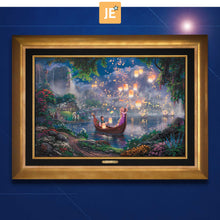 Load image into Gallery viewer, Tangled - Limited Edition Canvas (JE - Jewel Edition) - ArtOfEntertainment.com