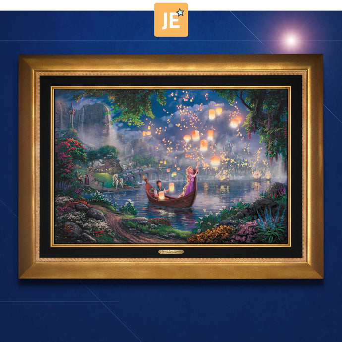 Tangled - Limited Edition Canvas (JE - Jewel Edition) - ArtOfEntertainment.com