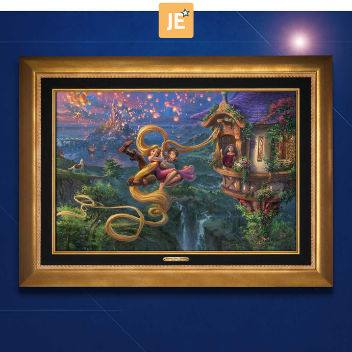 Tangled Up in Love - Limited Edition Canvas (JE - Jewel Edition) - ArtOfEntertainment.com