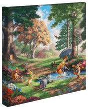 "Load image into Gallery viewer, Winnie the Pooh I - 14"" x 14"" Gallery Wrapped Canvas 63089"