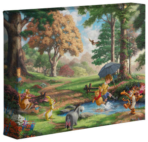 Winnie the Pooh I - Gallery Wrapped Canvas - ArtOfEntertainment.com