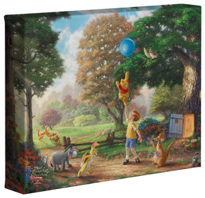 Winnie the Pooh II - Gallery Wrapped Canvas - ArtOfEntertainment.com