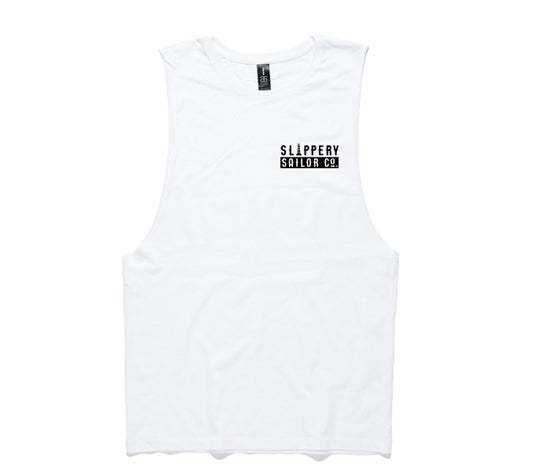 SLIPPERY SAILOR MUSCLE (WHITE)