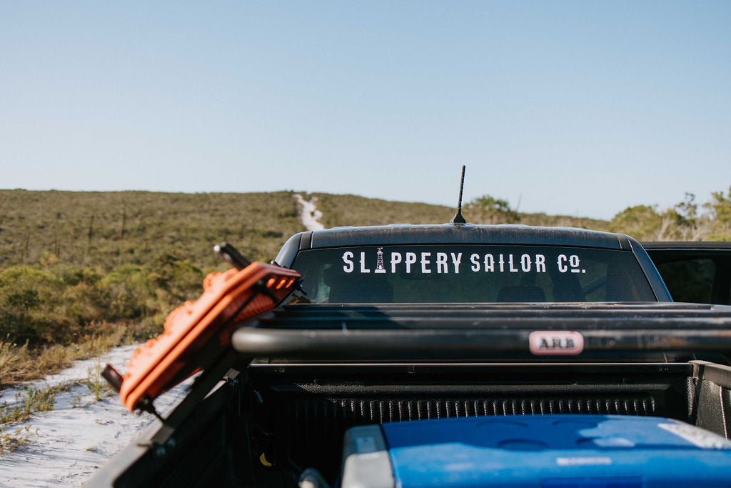 SLIPPERY SAILOR CO. LARGE DECAL