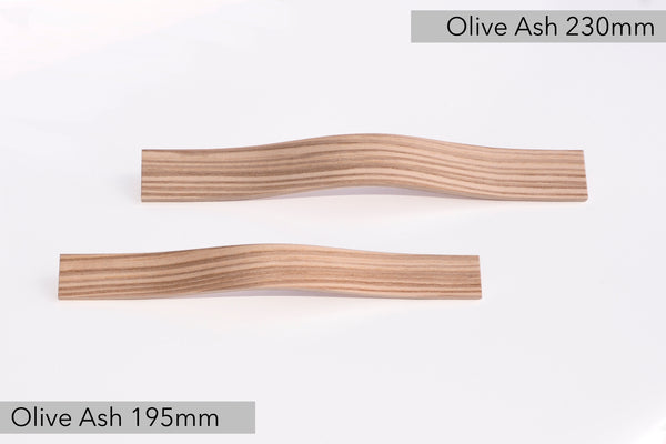 Olive Ash furniture handle pulls