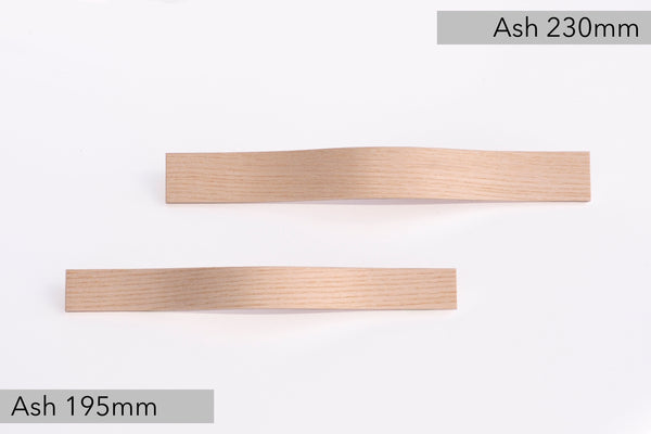 Ash wooden furniture pulls
