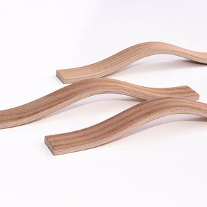 Elm wooden furniture handles