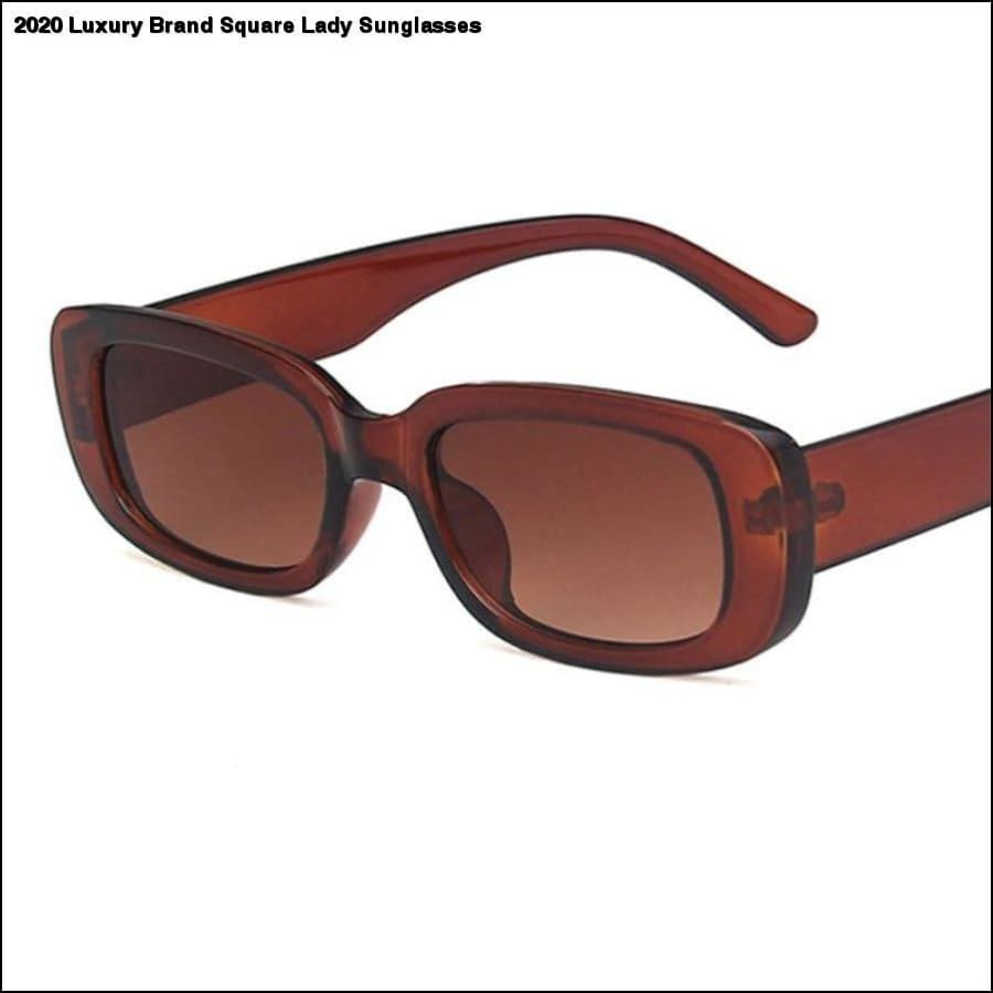 Rxcostore - 2020 Luxury Brand Square Lady Sunglasses - $15