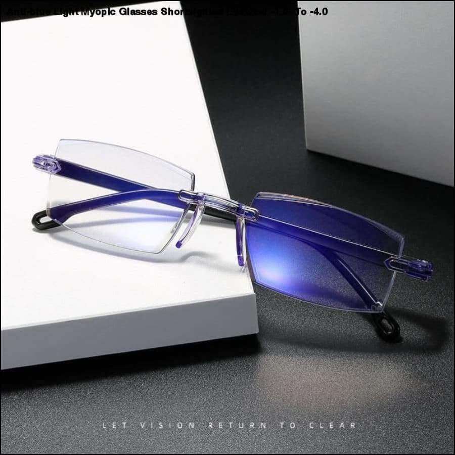 Rxcostore - Anti-blue Light Myopic Glasses Shortsighted -