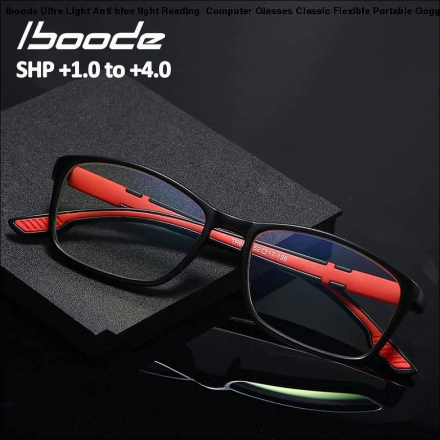 Rxcostore - Iboode Ultra Light Anti Blue Reading - iboode
