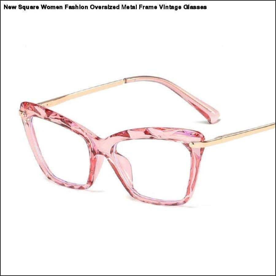 Rxcostore - Vintage Red Cat Frames Anti-radiation Eyewear -