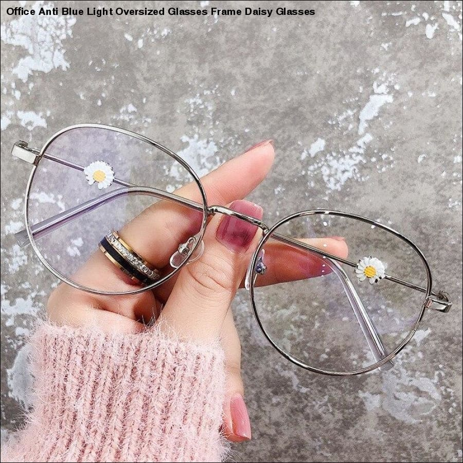 Rxcostore - Office Anti Blue Light Oversized Glasses Frame -