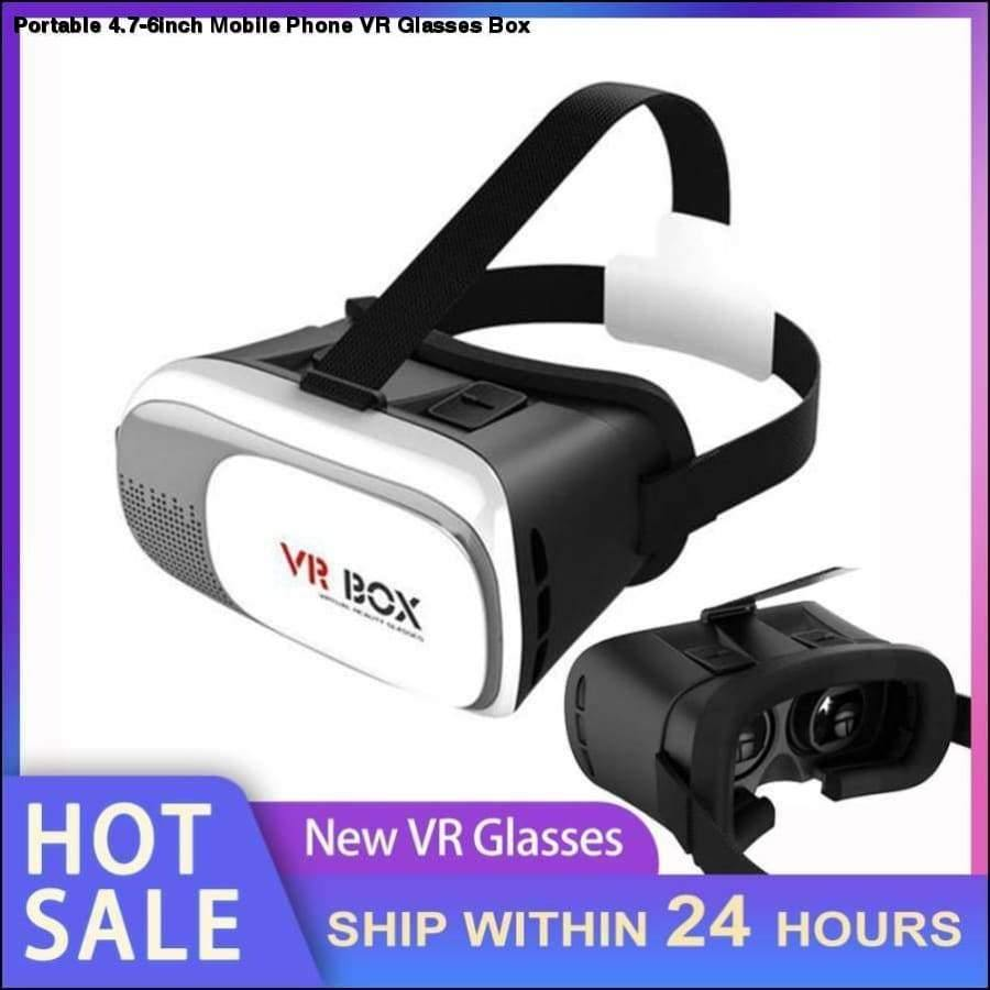 Rxcostore - Portable 4.7-6inch Mobile Phone Vr Glasses Box -