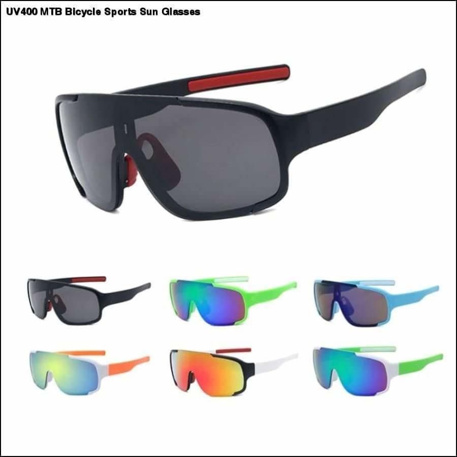 Rxcostore - Uv400 Mtb Bicycle Sports Sun Glasses - UV400 MTB