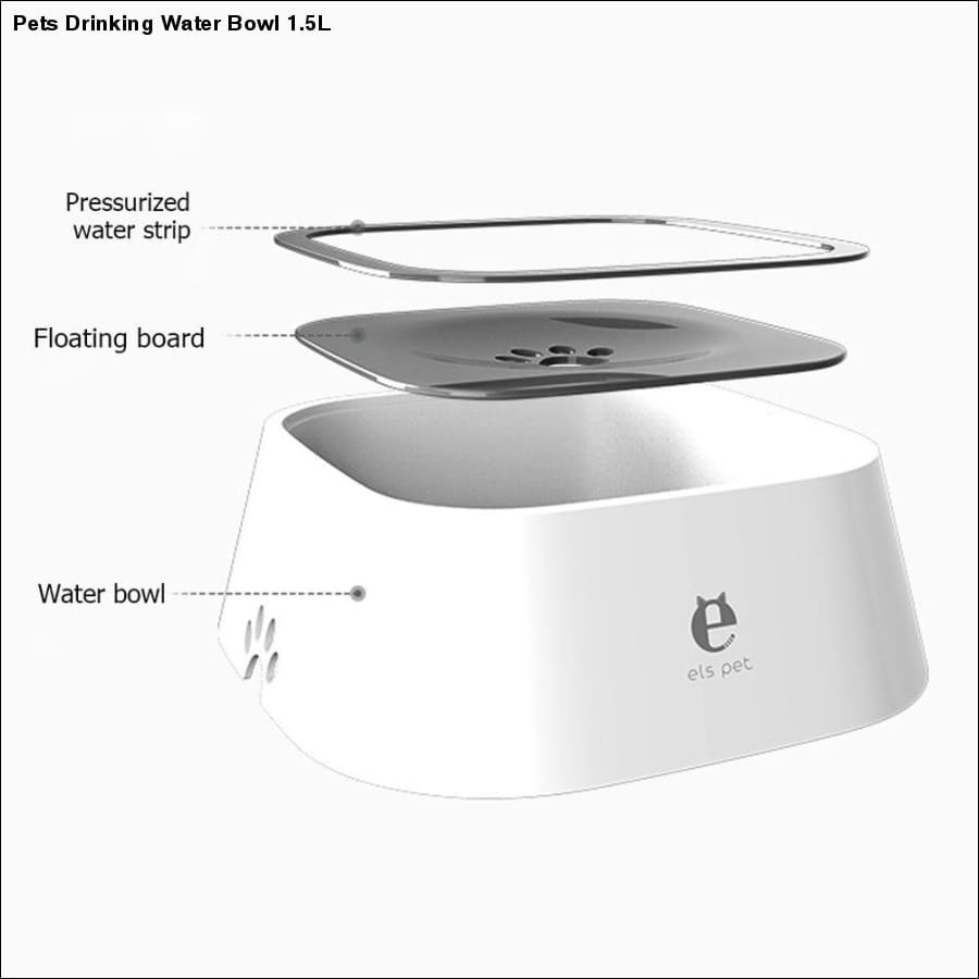 Rxcostore - Pets Drinking Water Bowl 1.5l rxcostore.com -