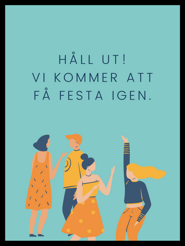 Håll ut studenter (A5)