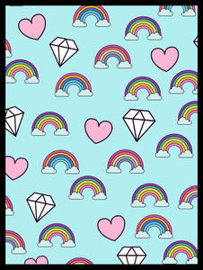 Rainbows and diamonds
