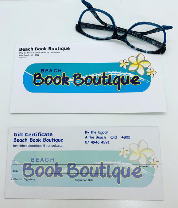 beach book boutique gift voucher