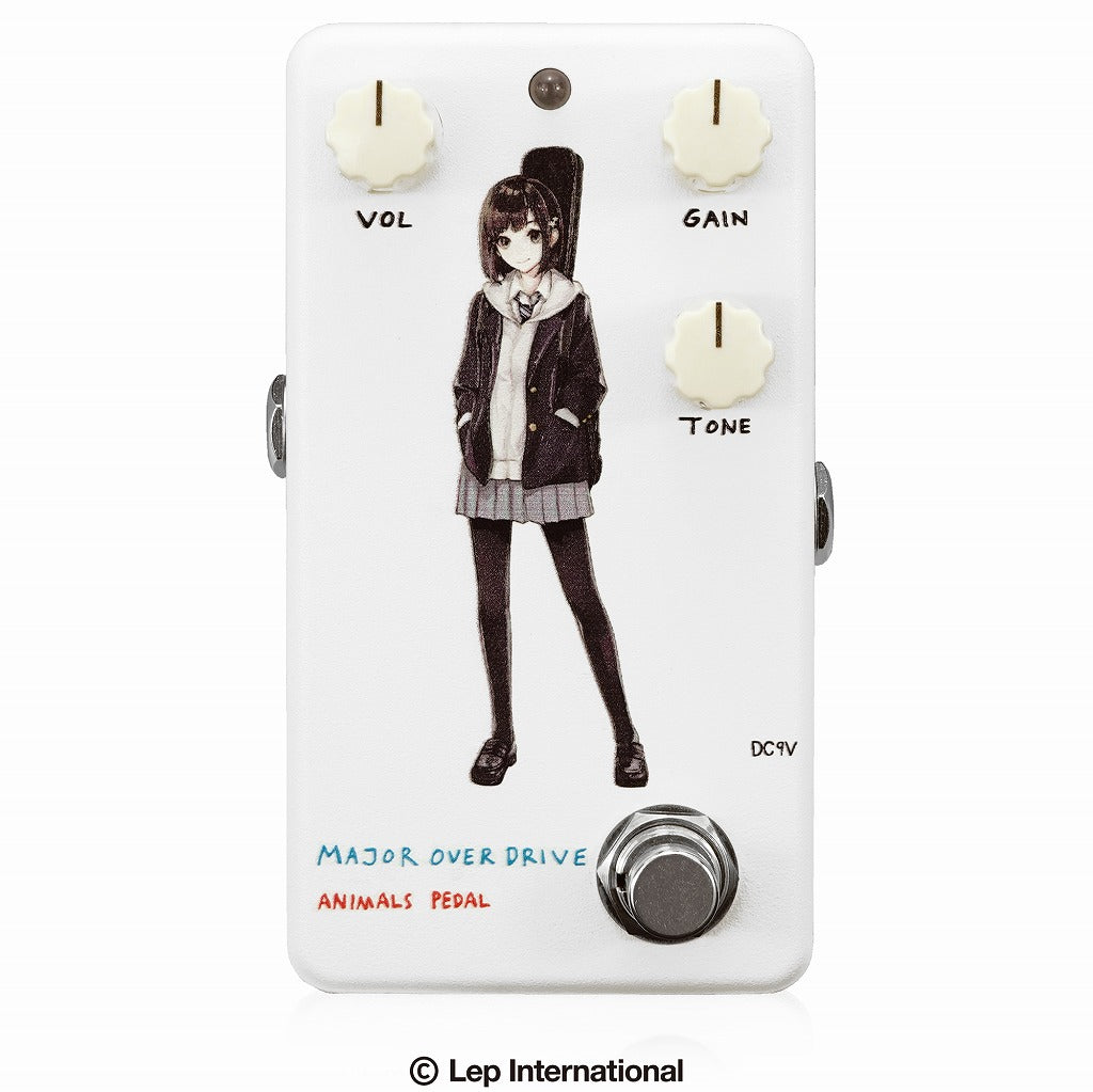 【受付終了】【3月入荷予定】Animals Pedal Custom Illustrated 007 Major Overdrive by あしやひろ