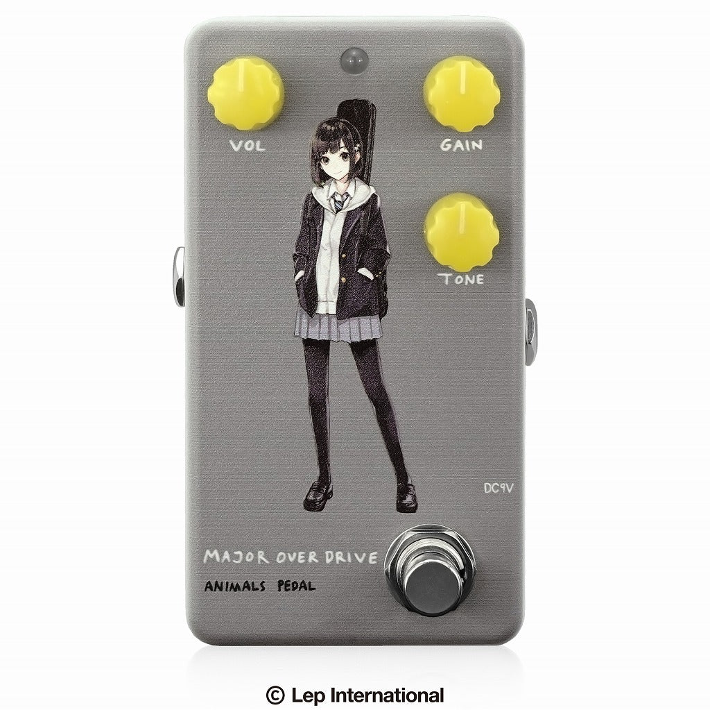 【受付終了】【3月入荷予定】Animals Pedal Custom Illustrated 009 Major Overdrive by あしやひろ