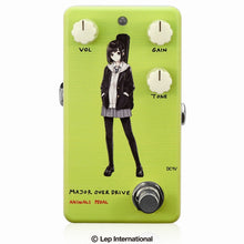 "Charger l'image dans la galerie, 【受付終了】【3月入荷予定】Animals Pedal Custom Illustrated 010 Major Overdrive by あしやひろ ""ボブカット"" Light Green"