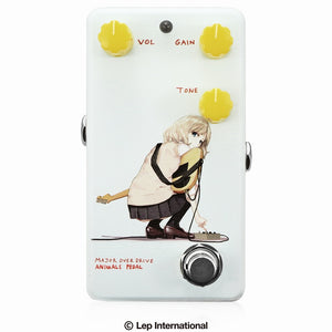"【受付終了】【3月入荷予定】Animals Pedal Custom Illustrated 012 Major Overdrive by あしやひろ ""Alice"" Faint Blue"