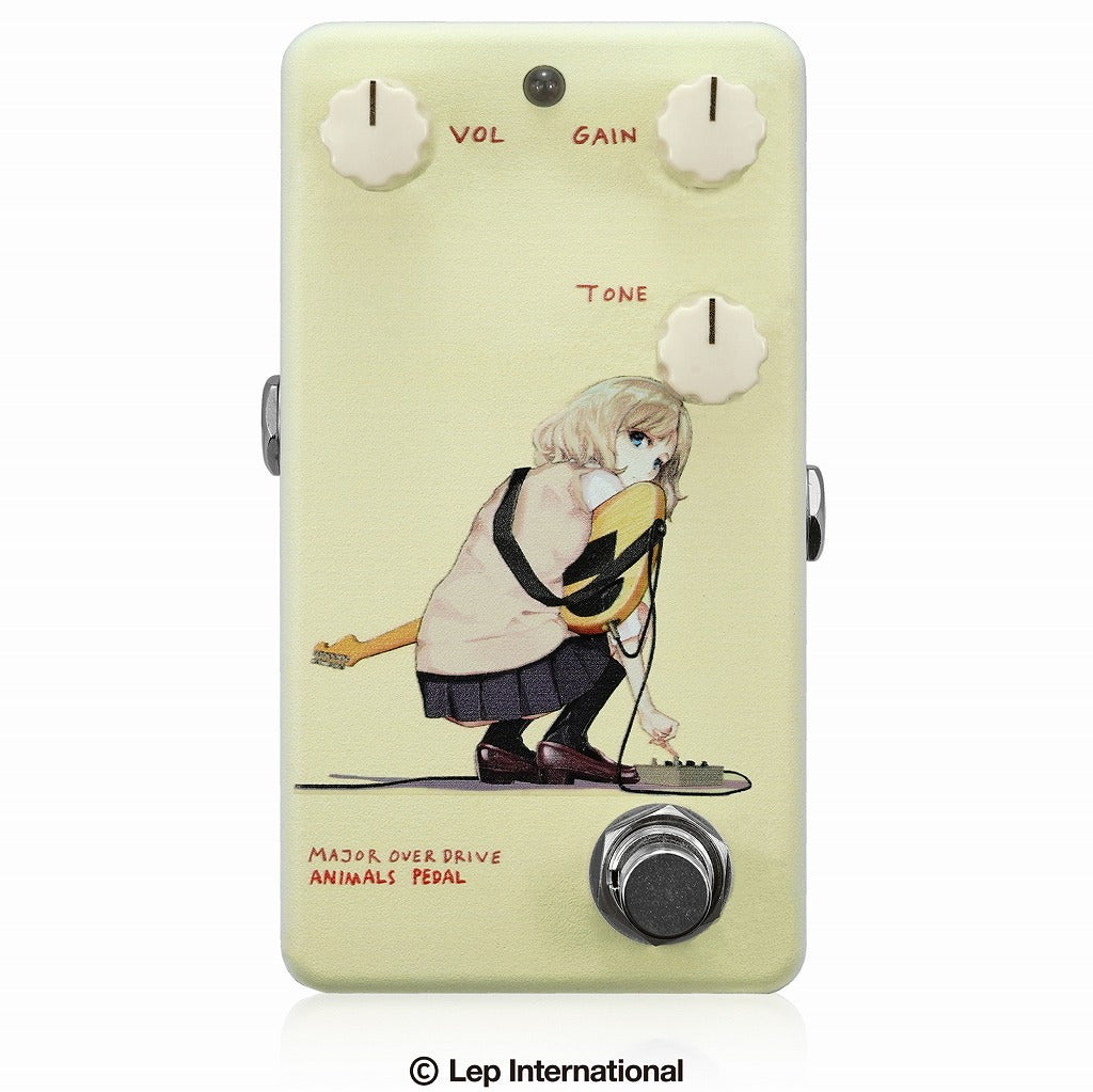 【受付終了】【3月入荷予定】Animals Pedal Custom Illustrated 013 Major Overdrive by あしやひろ