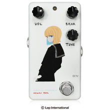 "Load image into Gallery viewer, 【受付終了】 Animals Pedal Custom Illustrated 002 Surfing Bear Overdrive by 文 ""黒セーラー"" White"