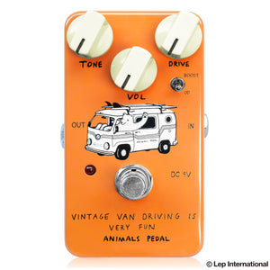 Animals Pedal Vintage Van Driving is Very Fun