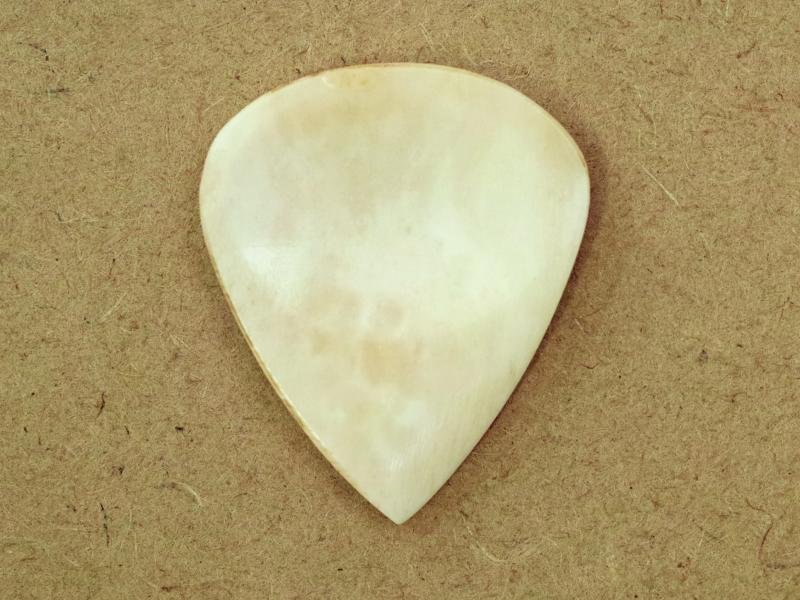Animals Pedal Wild Picks (CB-JP-DD-WH-S) Cow Bone Jazz Pick Double Dent White Small