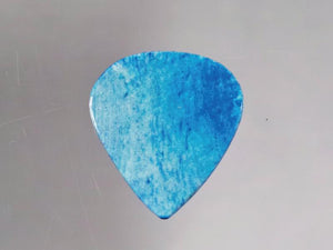 Animals Pedal Wild Picks (CB-TD-N-SB-S-1.5) Cow Bone Tear Drop Sky Blue Small