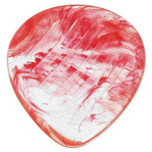 Animals Pedal Wild Picks Resin Tear Drop Dent Clear and Red ティアドロップ 3.0mm RE-TD-D-CR-3.0