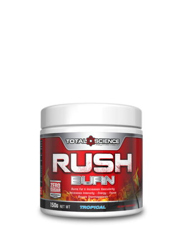 TOTALSCIENCE RUSH BURN 150g PRE WORKOUT