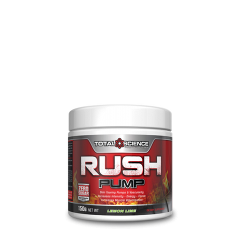 TOTAL SCIENCE RUSH PUMP 150G PRE WORKOUT