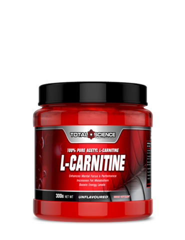 TOTAL SCIENC ACETYL-L CARNITINE  100% PHARMACEUTICAL GRADE 300g
