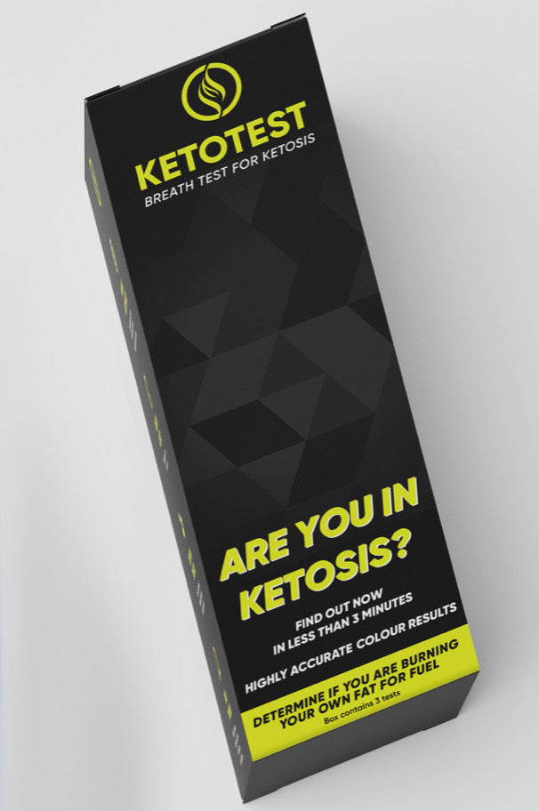 KETOTEST BREATH TESTER 3X BREATH TEST INCLUDED
