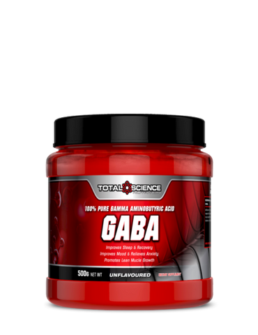 TOTAL SCIENCE GABA 500g 100% PURE GAMMA AMINOBUTYRIC ACID