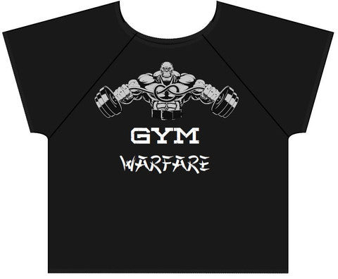 Gym Warfare Beast Mode Old School Bodybuilding Rag top