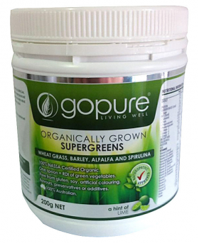 GoPure SuperGreens  Certified Organic