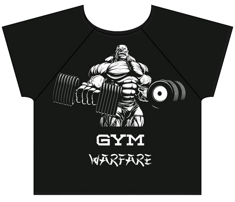 Gym Warfare Boss Lifter Old School Body Building Rag Top