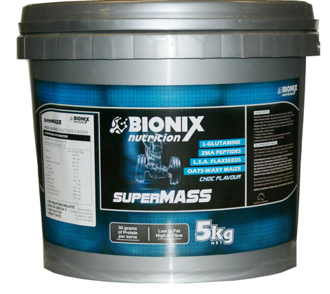 Bionix Nutrition SuperMass Gainer 5kg