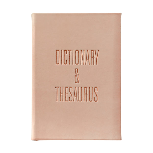 Dictionary/Thesaurus