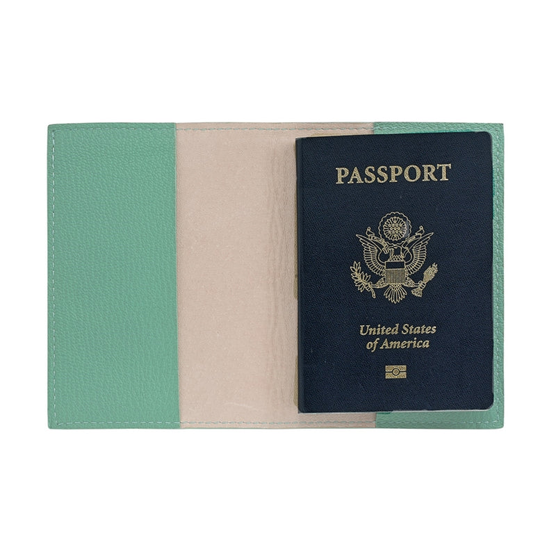 Robin's Egg Blue Passport Holder