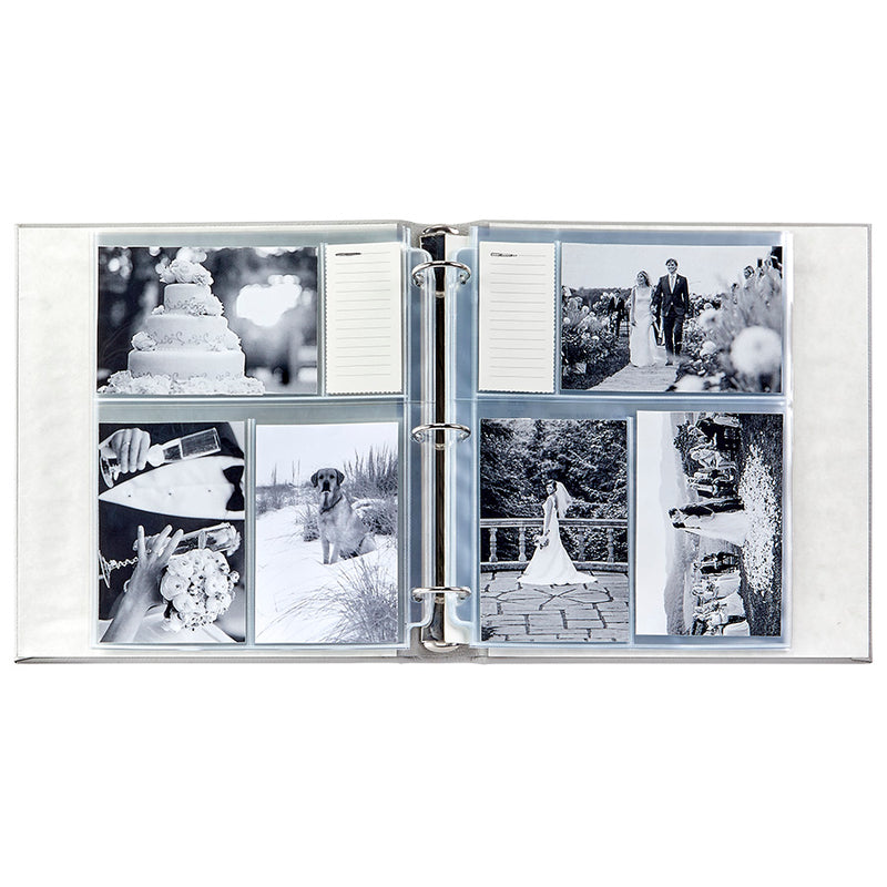 Large Ring Clear Pocket Album