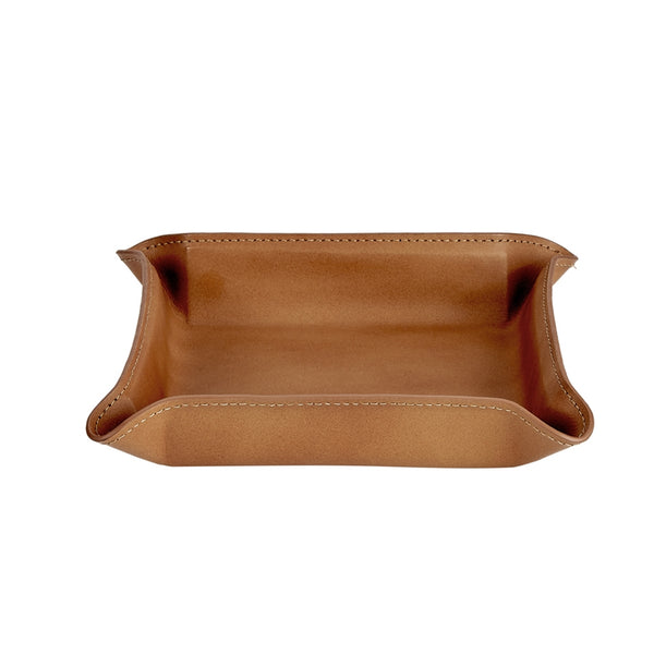 Medium Moldable Leather Catchall