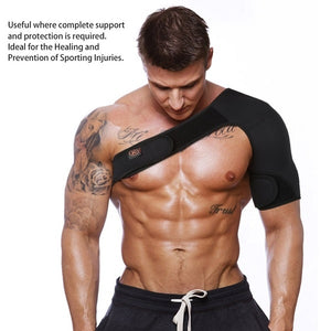 Single Shoulder Support Back Brace