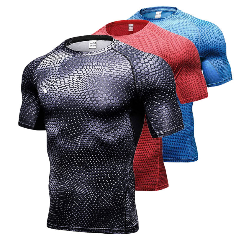 Compression Quick Dry Breathable T-Shirt