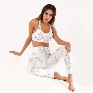 2 Piece Women Yoga Suit