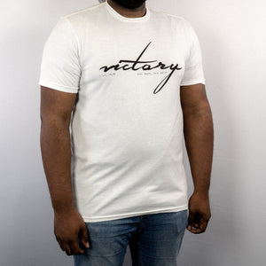 """Victory"" White T-Shirt"
