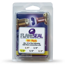 """1/2"""" Flare Seal Value 10 Pack"""